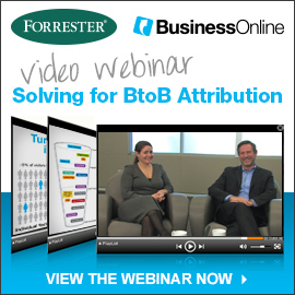 Solving for BtoB Attribution