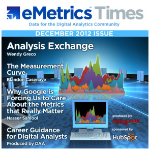 eMetrics Times Cover